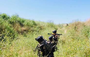 القوات العراقية تعمل لتأمين المناطق النائية جنوبي كركوك