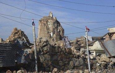 تطهير مناطق غرب نينوى من ألغام داعش