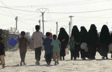 ژنانی داعش لە کەمپی هۆڵ هێشتا لە گومڕاییدا دەژین