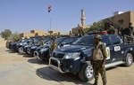 Anbar police reopen al-Rutbah district station