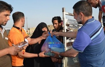 Ramadan inspires volunteers to assist displaced in Baghdad