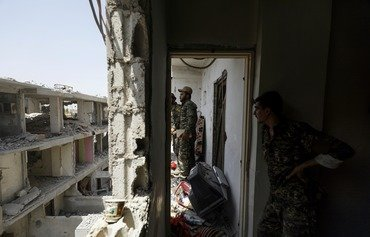 SDF advances south of ISIS stronghold al-Raqa