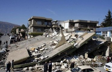 Quake leaves trail of death and destruction in Iraq