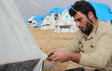 Ain Issa displacement camp braces for winter