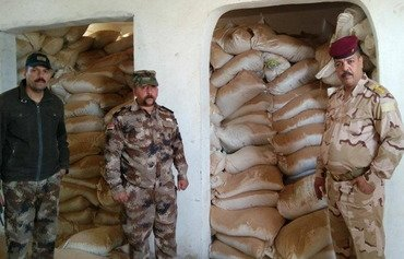 Iraqi forces uncover ISIS chemical stockpile in western Anbar