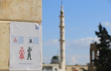 Syrian activists discourage marriage to foreign fighters
