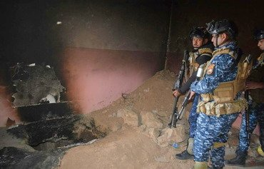 Iraqi police destroy ISIS outposts in al-Hawija