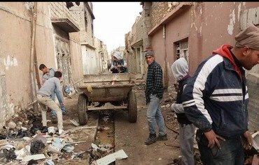 Mosul residents launch 'Danaber Revolution'