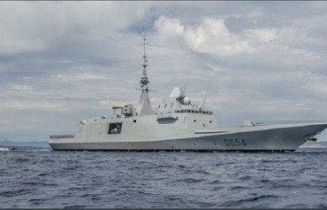 French Navy vessels monitor Syria from coast
