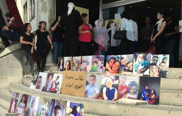 Sweida residents demand abductees' return