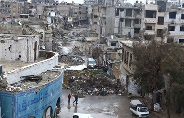 Syria begins demolitions in Damascus suburb