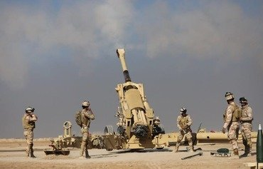 Iraqi Artillery Corps fortifies border with Syria