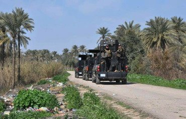 Iraqi forces clear Diyala orchards of ISIS remnants