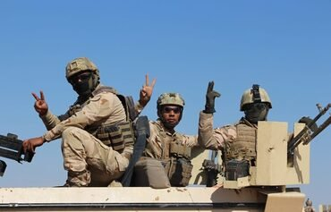 Iraqi forces clear ISIS from huge swath of western desert