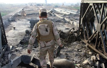 Bridge restoration helps Anbar move forward