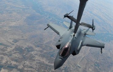 Coalition airstrikes pound ISIS hideouts in Salaheddine