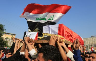 Iraq protests spread after 4 killed outside Iran consulate
