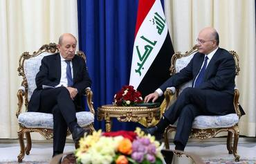 Iraq eyes closer ties with France through military, economic co-operation