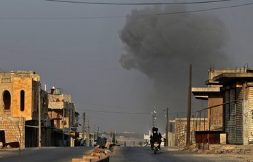 European Union condemns north-west Syria offensive