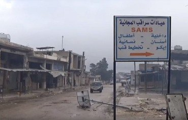 Syrian regime presses offensive after seizing Saraqeb