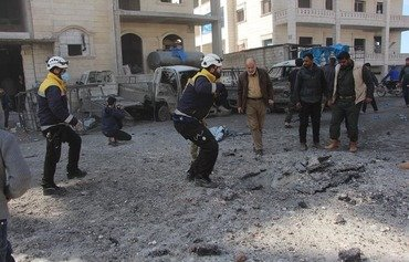 Russian airstrikes kill 14 civilians, child, in Idlib