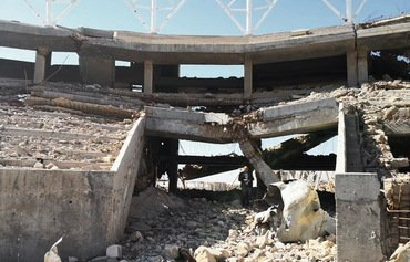 Anbar Olympic Stadium reconstruction begins
