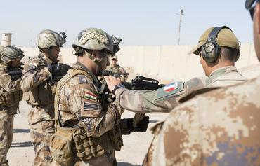 French task force builds up Iraqi soldiers' skills