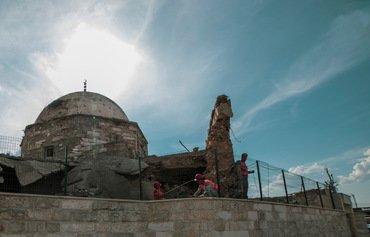 آغاز بازسازی مسجد تاریخی اغوات موصل