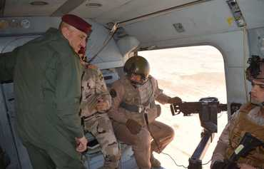 Iraqi helicopters hit ISIS hideout in western Anbar