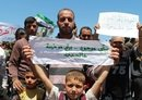 Idlib's displaced agitate for their return home