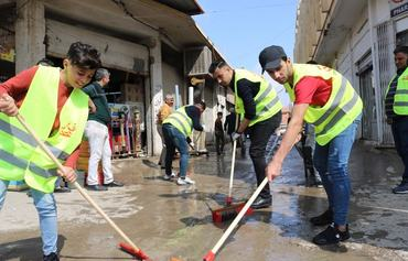 In post-ISIS Mosul, volunteers play active role in reconstruction