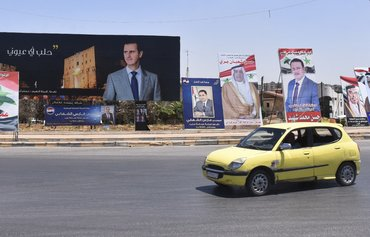 Syrian elections widely regarded as farce