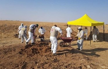 New grave of Yazidi ISIS victims found in Sinjar