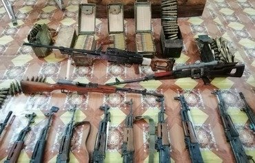Iraq cracks down on unlawful arms possession