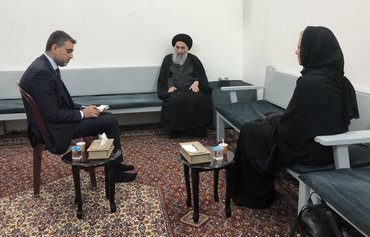 Al-Sistani backs early elections, stresses Iraq's sovereignty