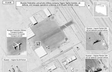 Imagery shows Russian military supplying Wagner Group in Libya