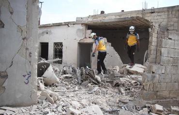 الغارات الجوية الروسية تضرب المدنيين السوريين