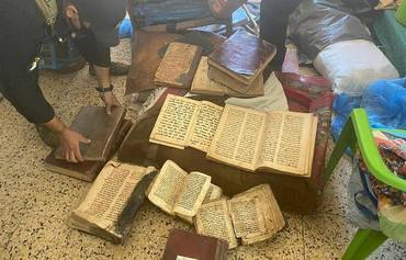 Iraq recovers books stolen from Ninawa churches