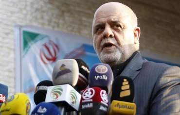Washington sanctions Iran envoy over 'destabilising' Iraq