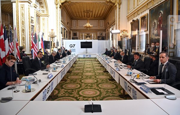 G7 ends talks with criticism of China, Russia, Iran